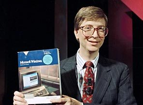 Bill Gates in 1990